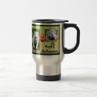 White Tiger Travel Mug