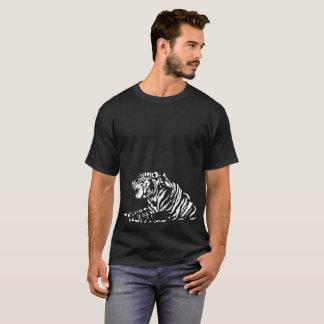 white tiger tribal T-Shirt