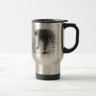 White Tiger wild animal Mugs