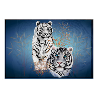 White Tigers -Posters