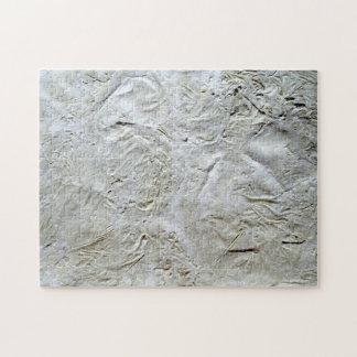 White Tissue Paper Puzzle