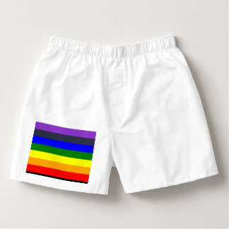 White To Black Rainbow of Color Spaces Boxers