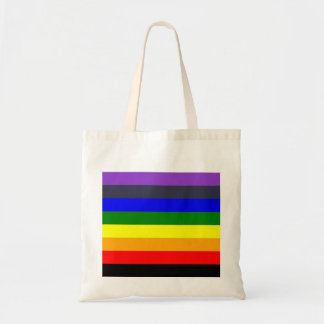 White To Black Rainbow of Color Spaces Tote Bag
