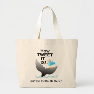 White Totes & Bags - How TWEET It Is!
