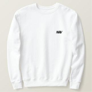 White traditional Sweat Embroidered Sweatshirt
