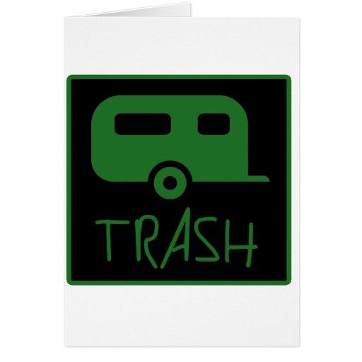 White Trailer Park Trash Poor Dumb Redneck Cards