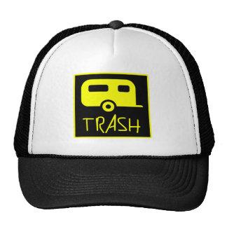 White Trailer Park Trash Poor Dumb Redneck Hats