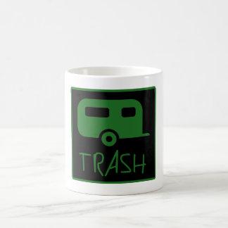 White Trailer Park Trash Poor Dumb Redneck Coffee Mug
