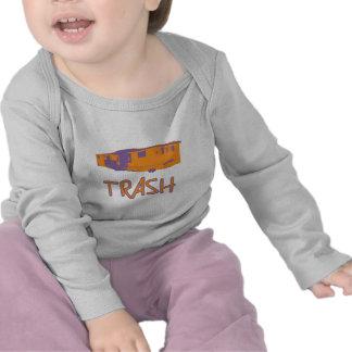 White Trailer Park Trash Poor Dumb Redneck Tee Shirt