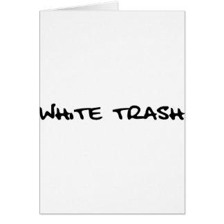 White Trash Cards