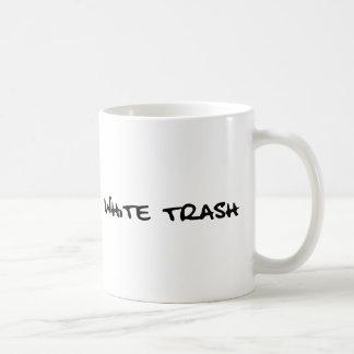 White Trash Classic White Coffee Mug