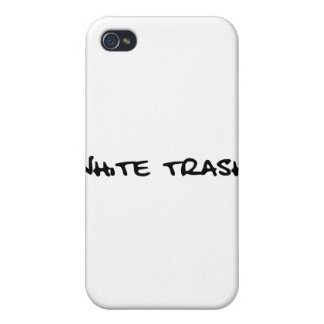 White Trash Covers For iPhone 4