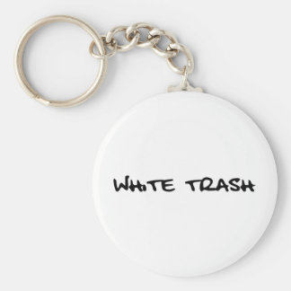 White Trash Key Chains
