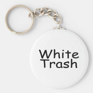 White Trash Key Ring