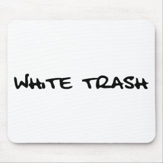 White Trash Mouse Pad