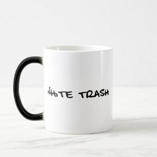 White Trash 11 Oz Magic Heat Color-Changing Coffee Mug