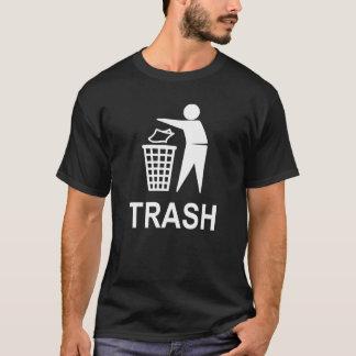 White Trash Party Garbage Can Pail Bin Recycle T-Shirt