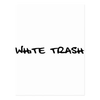 White Trash Post Card