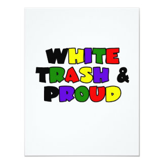 White Trash & Proud Card