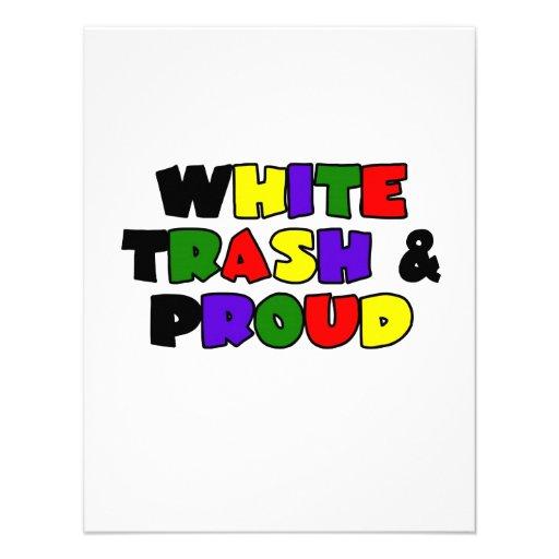 White Trash & Proud Invite
