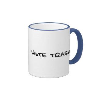 White Trash Ringer Mug
