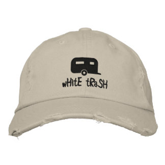 white trash trailer hat