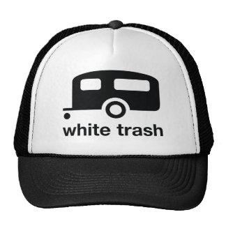 White Trash trailer icon - trailer park Trucker Hat