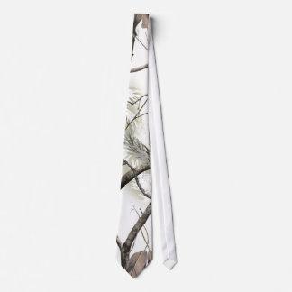 White Tree Camo Tie