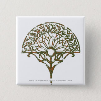 White Tree of Númenor 15 Cm Square Badge