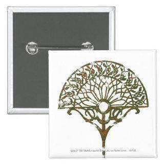 White Tree of Númenor 15 Cm Square Badge