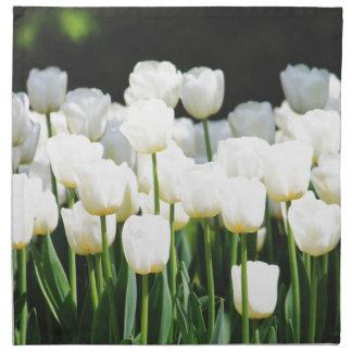 White Tulip Napkin