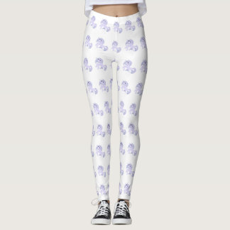 White Unicorn Leggings
