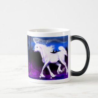 White Unicorn Morph Mug