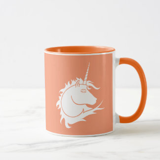 White Unicorn Mug