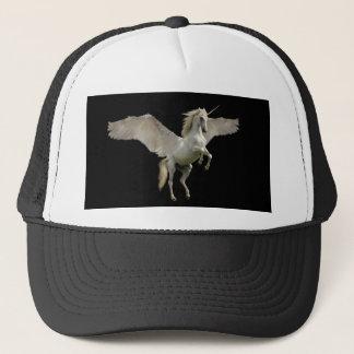 White Unicorn Pegasus Trucker Hat