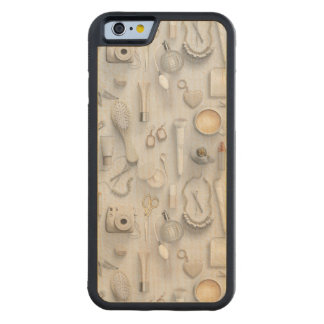 White Vanity Table Carved Maple iPhone 6 Bumper Case