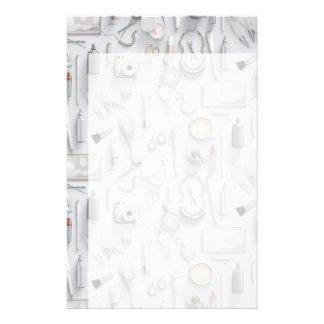 White Vanity Table Stationery