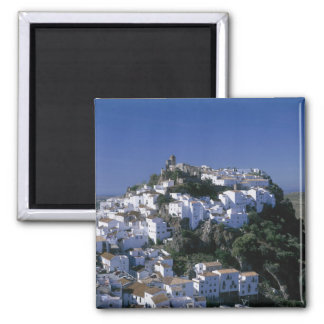 White Village of Casares, Andalusia, Spain Magnet