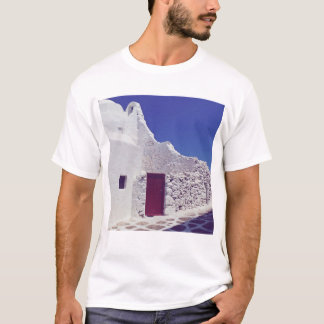 White walls of Mykonos T-shirt