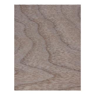 White Walnut Wood Grain Look 21.5 Cm X 28 Cm Flyer