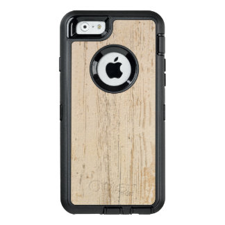 White washed wood grain OtterBox iPhone 6/6s case