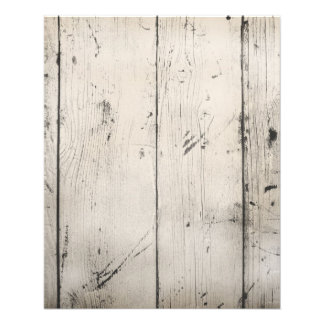 WHITE-WASHED WOOD TEXTURED GRAIN BACKGROUNDS WALLP 11.5 CM X 14 CM FLYER