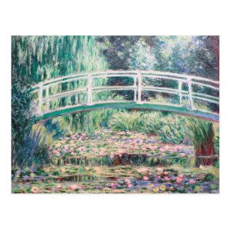 White Water Lilies | Monet Postcard