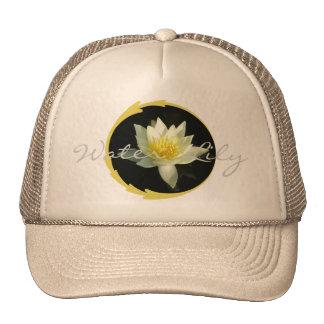 White Water Lily/Lotus Cap