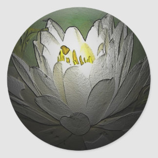 White Water Lily Stickers