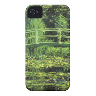 White Waterlilies by Claude Monet, Vintage Art iPhone 4 Cover