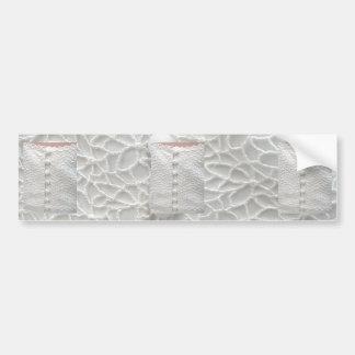 White Wedding Gown Bumper Sticker - Customizable