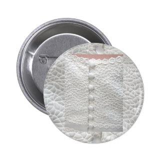 White Wedding Gown Button - Customizable