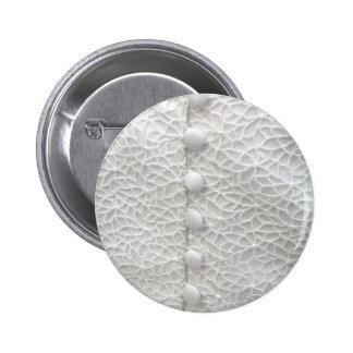White Wedding Gown I Button - Customizable Pinback Button