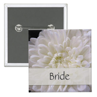 White Wedding Pin for the Bride